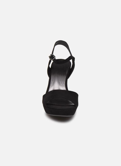 Sandales et nu-pieds Tamaris BEAL Noir vue portées chaussures