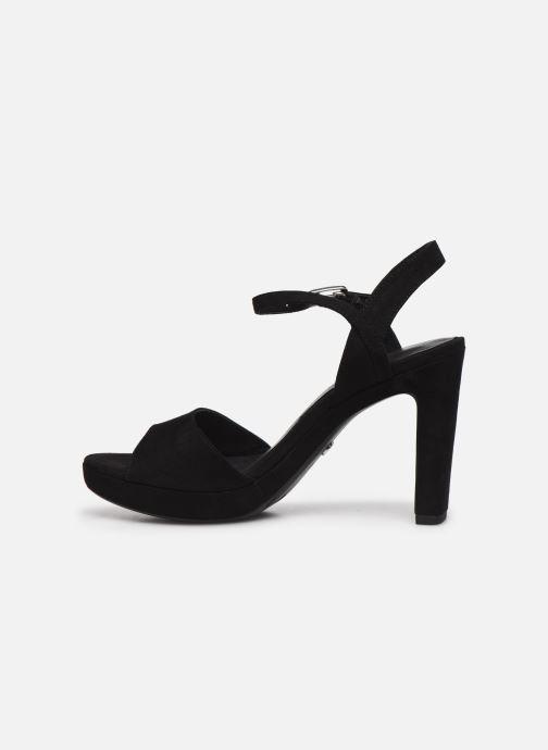 Sandales et nu-pieds Tamaris BEAL Noir vue face
