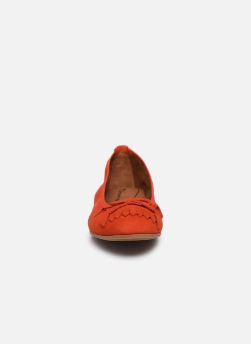 Ballerine Tamaris BROCK Rosso modello indossato