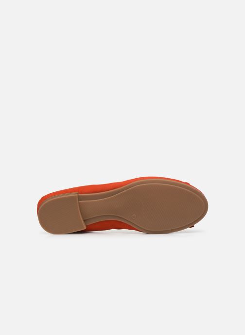 Ballerines Tamaris BROCK Rouge vue haut