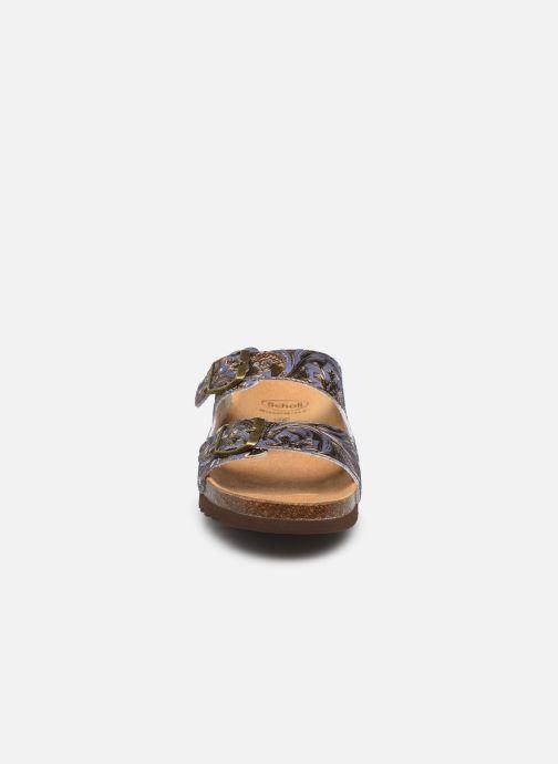 Mules et sabots Scholl Regina C Bleu vue portées chaussures
