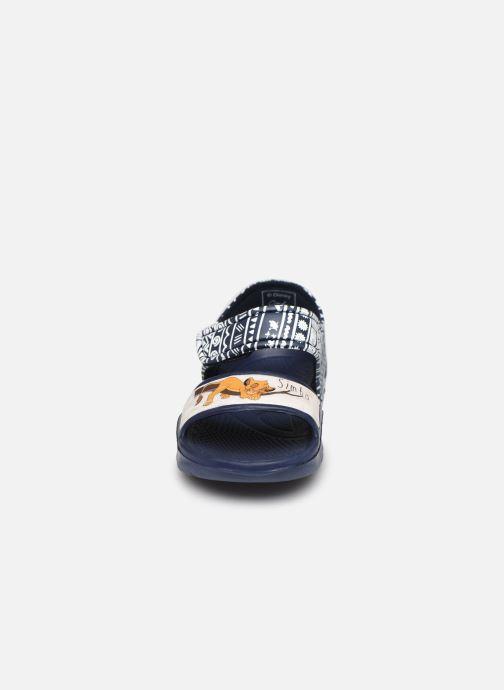Sandales et nu-pieds Disney Animals Soucis Bleu vue portées chaussures
