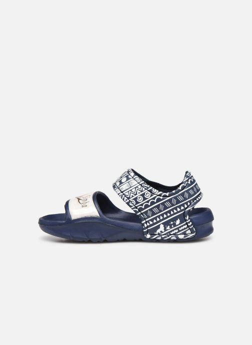 Sandales et nu-pieds Disney Animals Soucis Bleu vue face