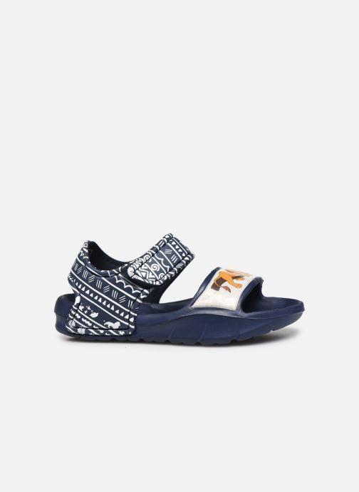 Sandales et nu-pieds Disney Animals Soucis Bleu vue derrière