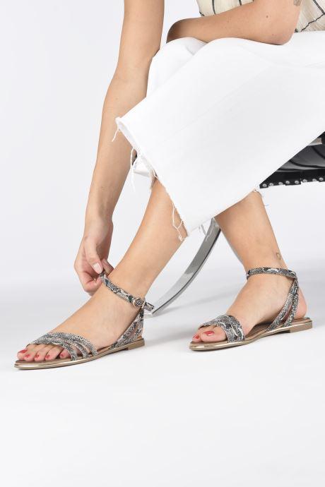 Sandales et nu-pieds Tamaris PAOL Beige vue bas / vue portée sac