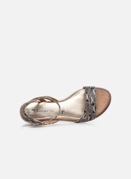 Sandales et nu-pieds Tamaris PAOL Beige vue gauche