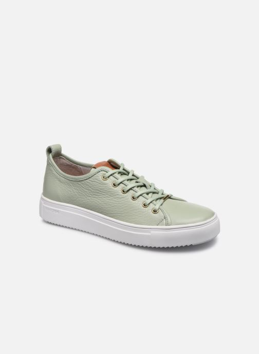 Trainers Blackstone PL97 Green detailed view/ Pair view