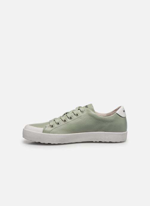 Sneakers Blackstone TW61 Verde immagine frontale
