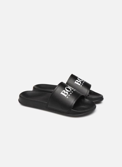 Sandals BOSS J29199 Black 3/4 view