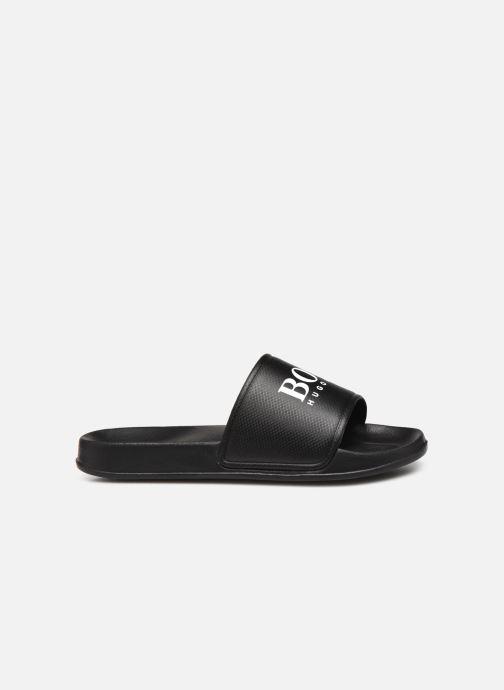 Sandalen BOSS J29199 schwarz ansicht von hinten