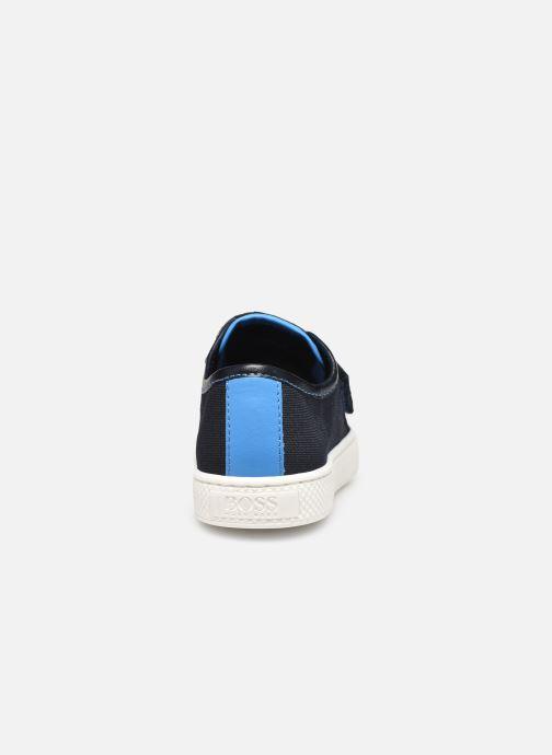 Baskets BOSS J09124 Bleu vue droite