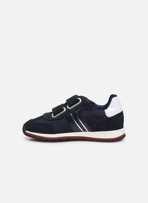 Sneakers BOSS J09H17 Blauw voorkant