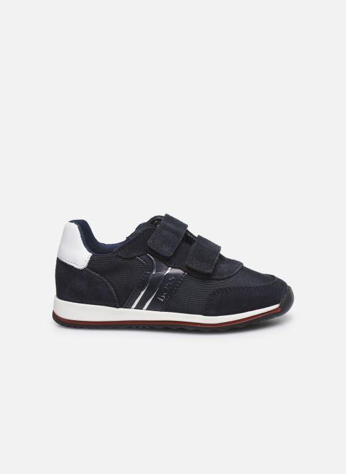 Sneakers BOSS J09H17 Blauw achterkant