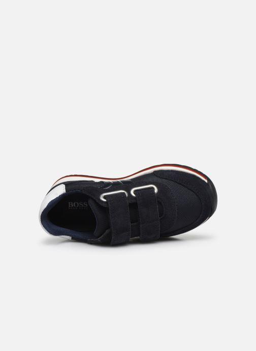 Sneakers BOSS J09H17 Blauw links