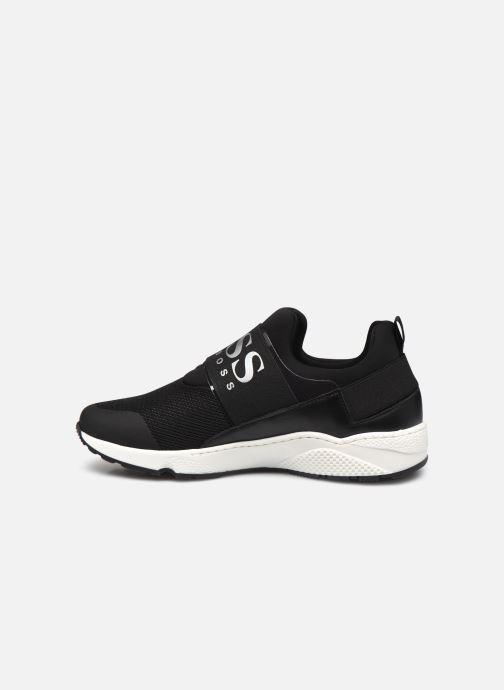 Sneaker BOSS J29H93 schwarz ansicht von vorne
