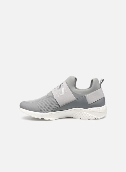 Trainers BOSS J29H93 Grey front view