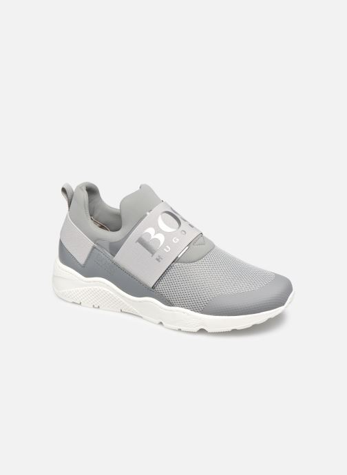 Trainers BOSS J29H93 Grey detailed view/ Pair view
