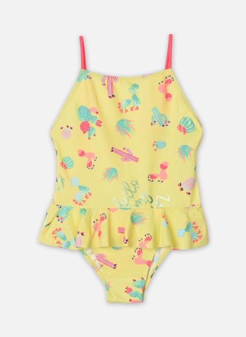 Vêtements Billieblush U10334 Jaune vue détail/paire