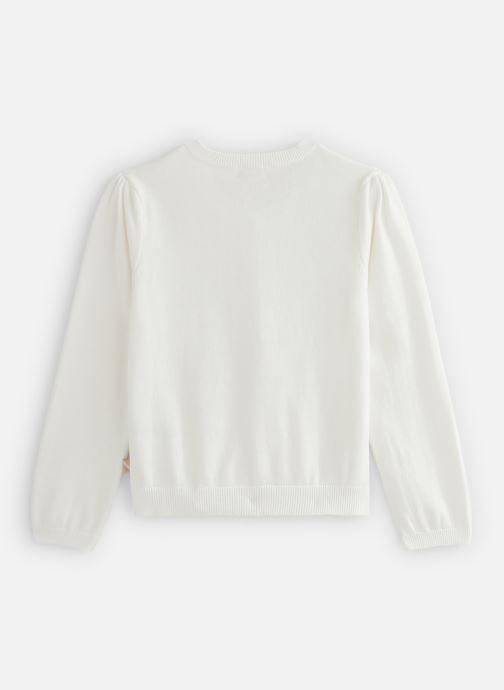Vêtements Billieblush U15P03 Blanc vue bas / vue portée sac