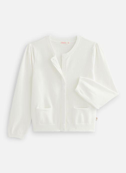 Vêtements Billieblush U15P03 Blanc vue détail/paire