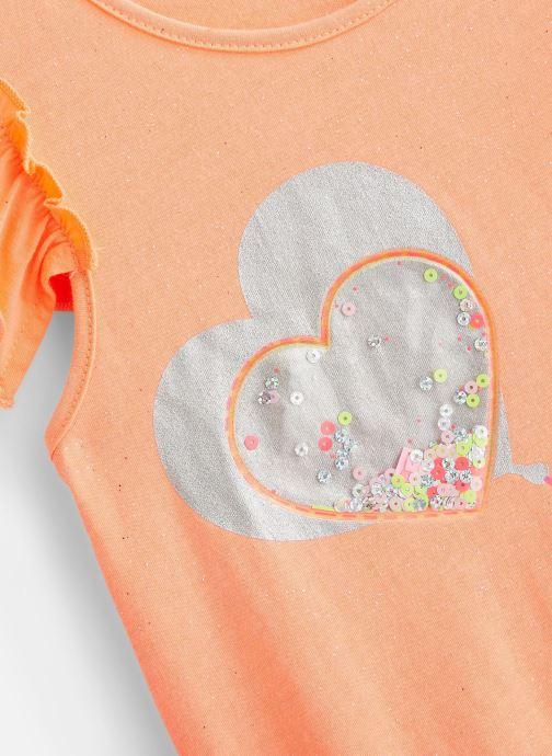 Vêtements Billieblush U15710 Orange vue portées chaussures