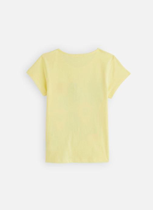 Vêtements Billieblush U15729 Jaune vue bas / vue portée sac