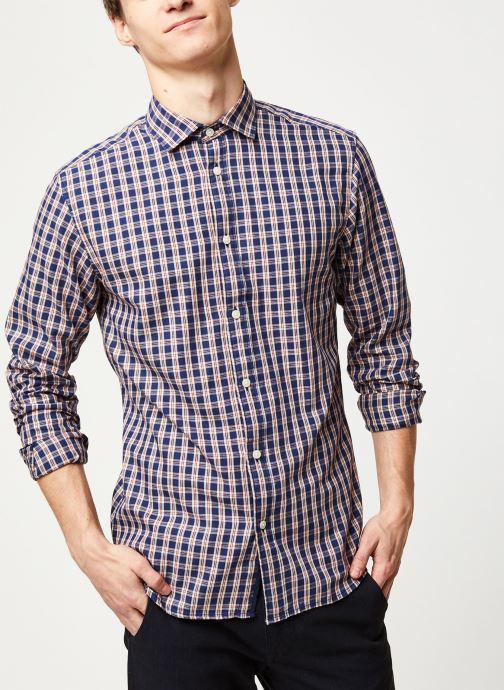 Vêtements Accessoires Slhslimmark Washed Shirt LS