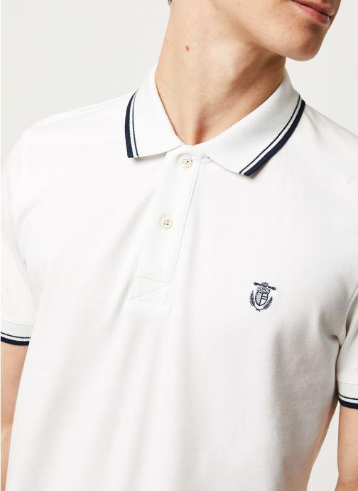Vêtements Selected Homme Slhnewseason SS Polo Blanc vue face