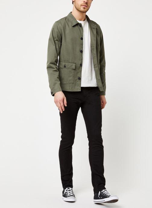 Vêtements Selected Homme Slhcharlie Workwear Jacket Vert vue bas / vue portée sac