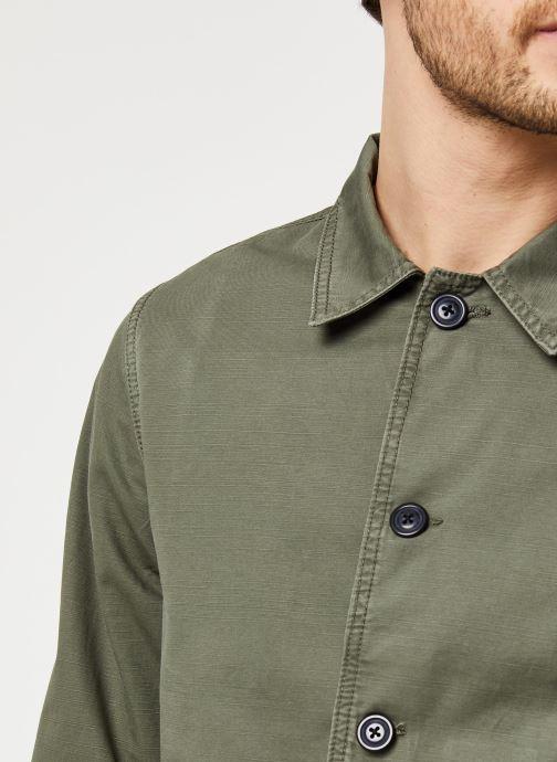 Vêtements Selected Homme Slhcharlie Workwear Jacket Vert vue face