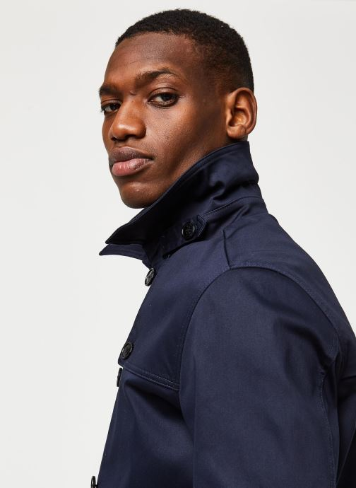 Vêtements Selected Homme Slhken Trench Coat Bleu vue face