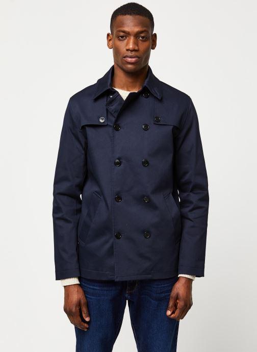 Vêtements Selected Homme Slhken Trench Coat Bleu vue droite