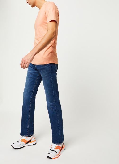 Vêtements Selected Homme Slhtheperfect SS Tee Orange vue bas / vue portée sac