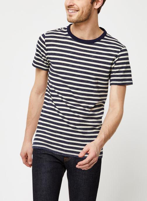 T-shirt - Slhbjorn Stripe SS Tee