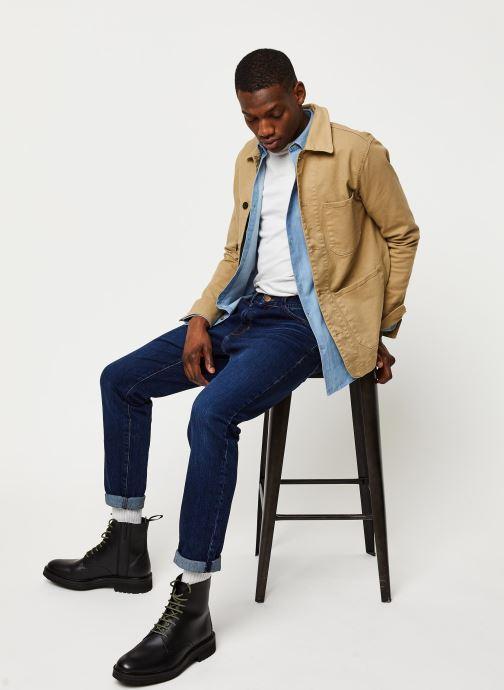Vêtements Selected Homme Slhjackson Cotton Jacket Beige vue bas / vue portée sac