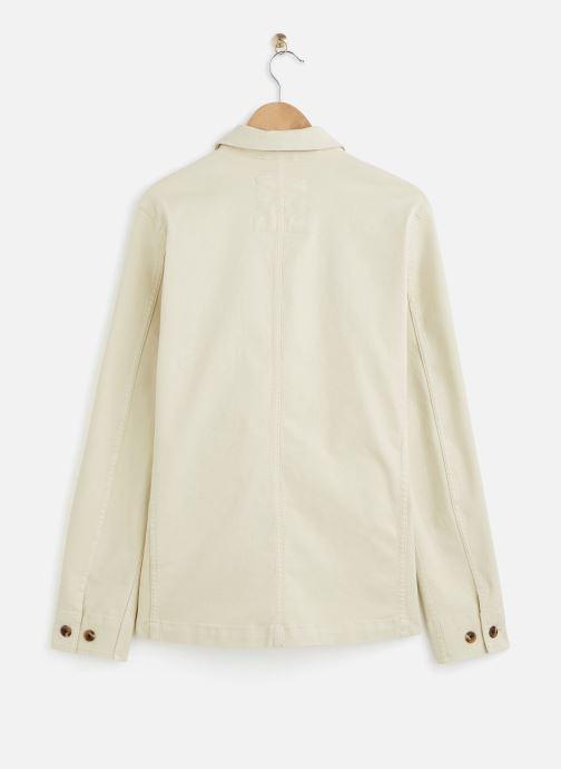 Vêtements Selected Homme Slhjackson Cotton Jacket Blanc vue bas / vue portée sac