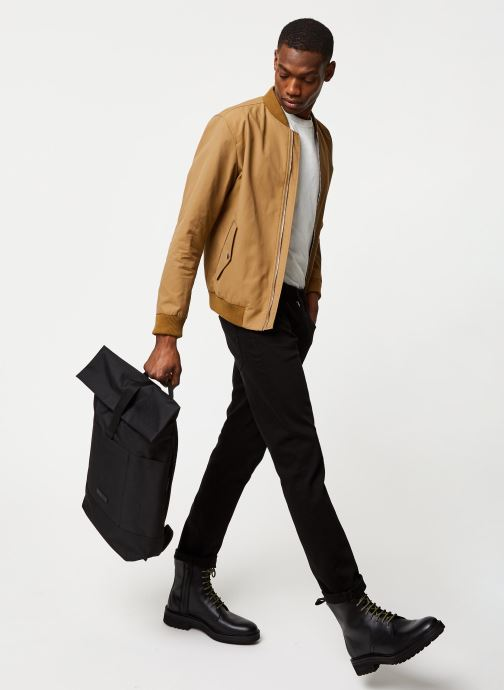 Vêtements Selected Homme Slhmartin Bomber Jacket Marron vue bas / vue portée sac
