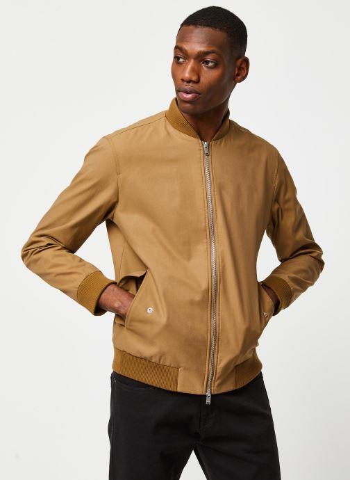 Vêtements Selected Homme Slhmartin Bomber Jacket Marron vue droite