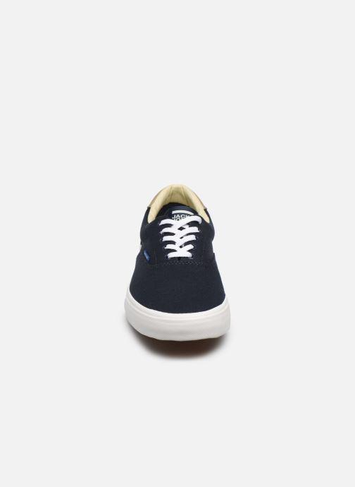 Baskets Jack & Jones Jfw Mork Canvas Bleu vue portées chaussures