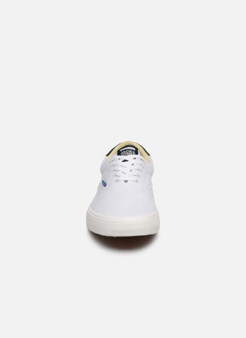 Baskets Jack & Jones Jfw Mork Canvas Blanc vue portées chaussures