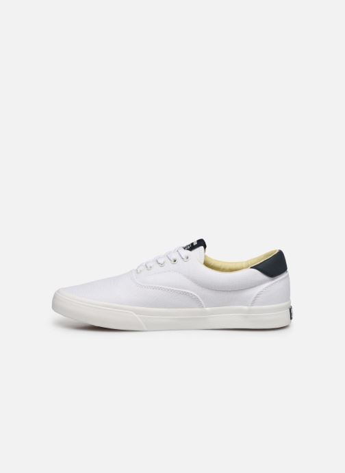 Baskets Jack & Jones Jfw Mork Canvas Blanc vue face