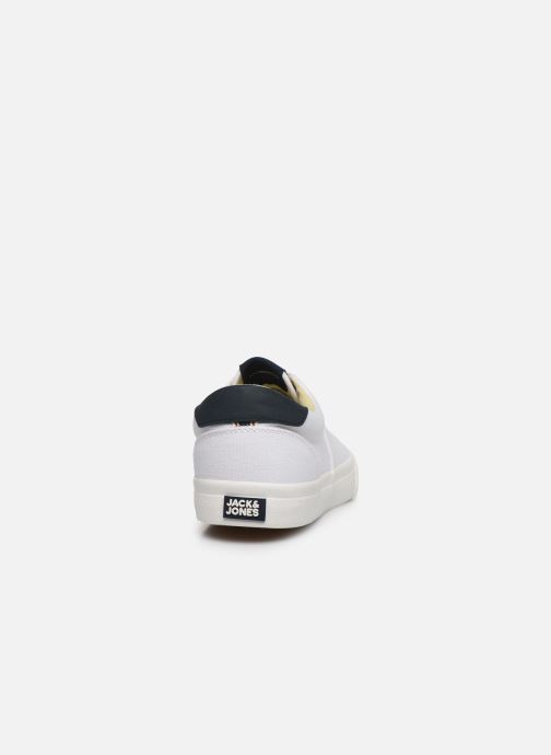 Baskets Jack & Jones Jfw Mork Canvas Blanc vue droite