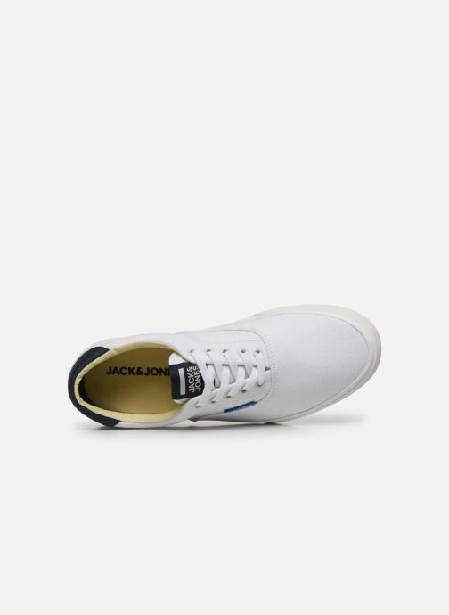 Baskets Jack & Jones Jfw Mork Canvas Blanc vue gauche