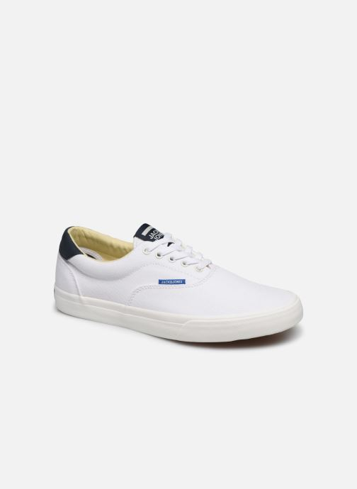 Baskets Jack & Jones Jfw Mork Canvas Blanc vue détail/paire