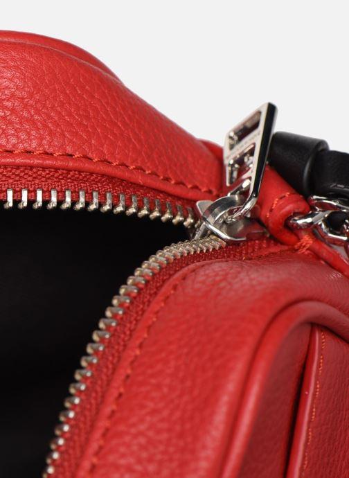 Sacs à main Zadig & Voltaire XS Boxy Grained Rouge vue derrière