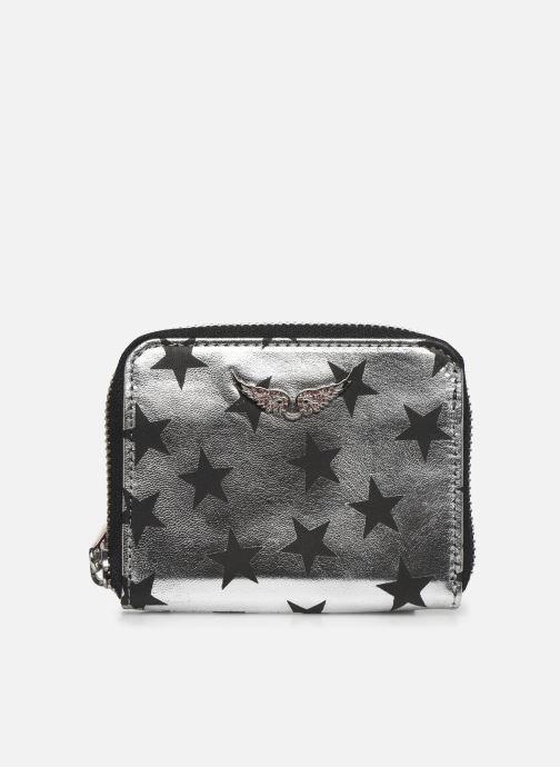 Petite Maroquinerie Zadig & Voltaire Mini ZV Stars C Argent vue détail/paire