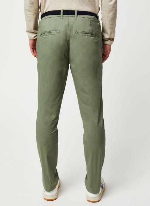Vêtements Selected Homme Slhslim-Yard Pants W Noos Vert vue portées chaussures
