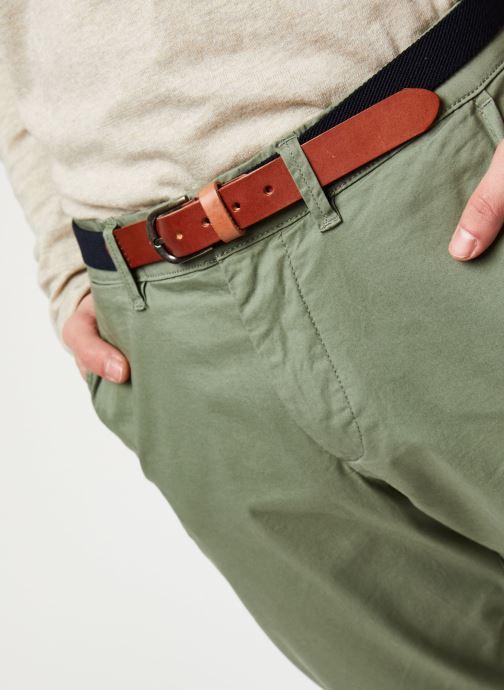 Vêtements Selected Homme Slhslim-Yard Pants W Noos Vert vue face