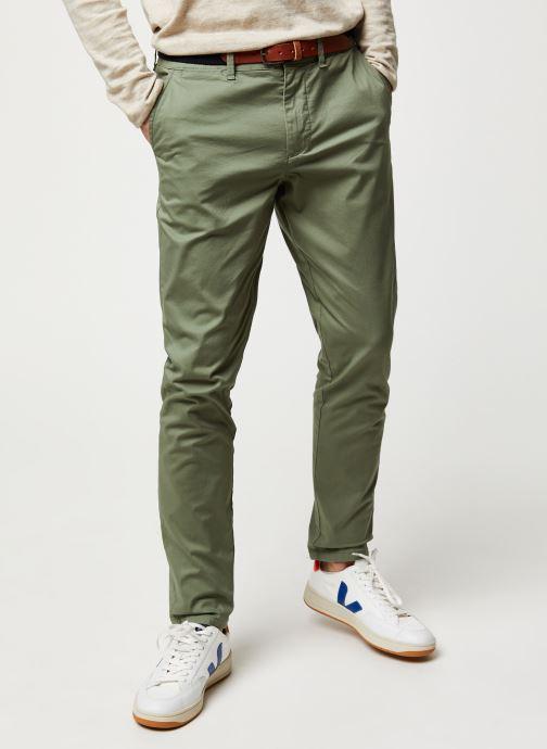 Vêtements Selected Homme Slhslim-Yard Pants W Noos Vert vue détail/paire