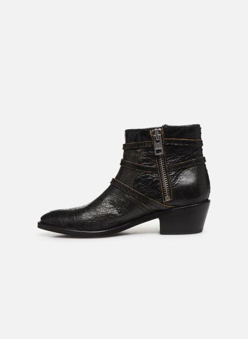 Boots en enkellaarsjes Zadig & Voltaire Pilar Used St Zwart voorkant